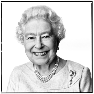 David Bailey portrait of Queen